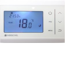 Herschel IQ T1 Wireless Thermostat Pack (with R1 Receiver)