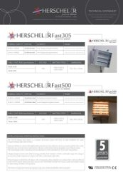 Advantage FASTIR Techincal Datasheet